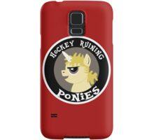 Hockey Ruining Ponies: Uni-Kane Samsung Galaxy Case/Skin