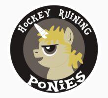 Hockey Ruining Ponies: Uni-Kane Kids Clothes