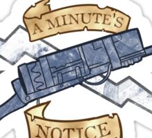 Minute Men Sticker