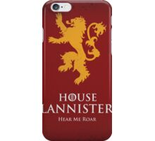 House Lannister Duvet Cover iPhone Case/Skin