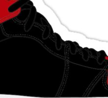 "Air Jordan I (1) ""Bred"" Sticker"