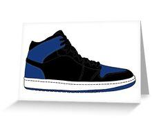 "Air Jordan I (1) ""Royal Blue"" Greeting Card"
