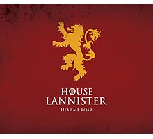 House Lannister Duvet Cover Photographic Print