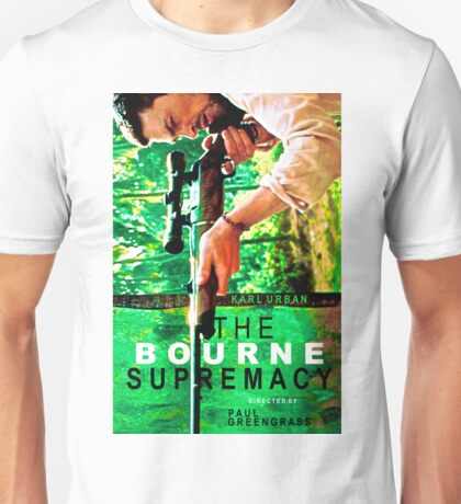 THE BOURNE SUPREMACY 4 Unisex T-Shirt