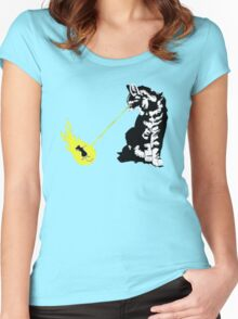 future cat Women's Fitted Scoop T-Shirt