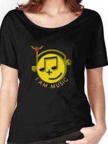 I Am Music Women's Relaxed Fit T-Shirt