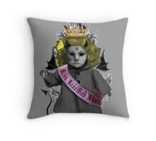 Devil Doll Throw Pillow