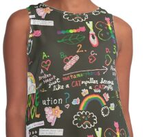 LOVE EVOLution Contrast Tank
