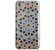 Traditional moroccan mosaic iPhone Case/Skin