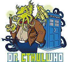 Dr. Cthulwho Photographic Print