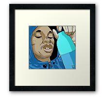 Black Kray Framed Print