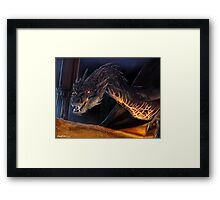 You have nice manners for a thief... Framed Print