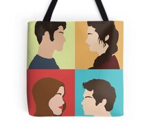 Scott, Allison, Lydia + Stiles Tote Bag