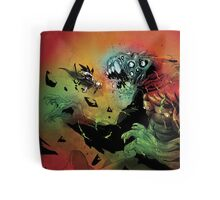 Heavy Angel - Battle at the Gate of Hell Tote Bag