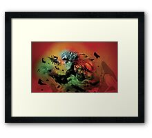 Heavy Angel - Battle at the Gate of Hell Framed Print