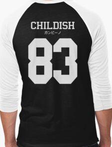 Childish ガンビーノ Jersey Men's Baseball ¾ T-Shirt