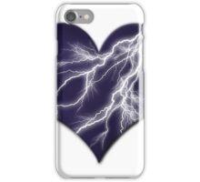 Lightning Bolt Heart iPhone Case/Skin