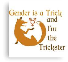 Trickster Gender Canvas Print