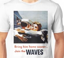 Vintage poster - Waves Unisex T-Shirt