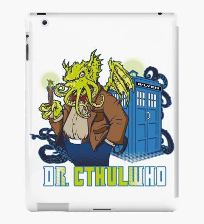 Dr. Cthulwho iPad Case/Skin