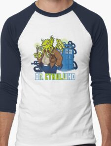 Dr. Cthulwho Men's Baseball ¾ T-Shirt