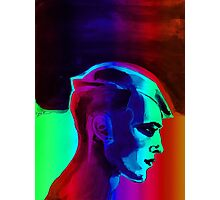 Man Spectrum Edge by Vyse Photographic Print