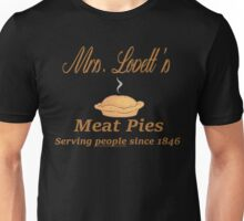 Sweeney Todd - Mrs. Lovett's Meat Pies Unisex T-Shirt