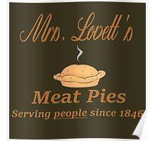 Sweeney Todd - Mrs. Lovett's Meat Pies Poster