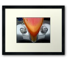 Female View at a Car Show -8 (aka PIZAZZ!) ^ Framed Print