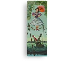 Haunted Mansion Tightrope Girl  Canvas Print
