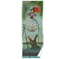 Haunted Mansion Tightrope Girl  Poster