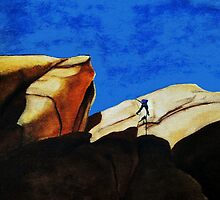 Rockclimber by Alison Newth