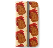 Chicken Head iPhone Wallet/Case/Skin