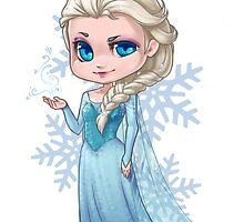 Chibi Elsa by elliem-