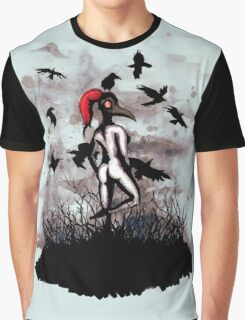 Dancing With Crows Graphic T-Shirt