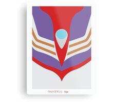 Ultraman Tiga Metal Print