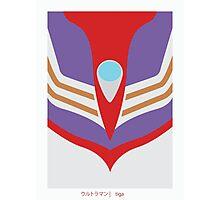 Ultraman Tiga Photographic Print