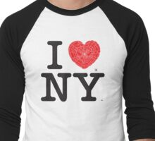 I Web NY Men's Baseball ¾ T-Shirt