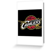 Cleveland Cavaliers All In All For One & One For All Greeting Card
