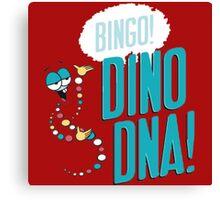 Dino DNA Canvas Print