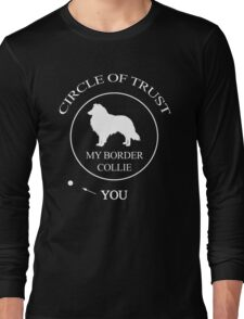 Funny Border Collie Dog Long Sleeve T-Shirt
