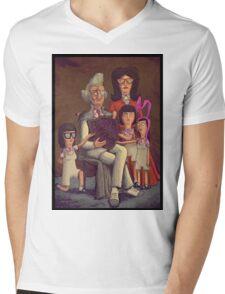 Fischoeder Family Portrait Mens V-Neck T-Shirt