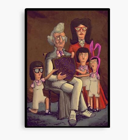 Fischoeder Family Portrait Canvas Print