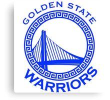 Golden state warrior Canvas Print
