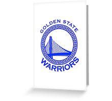 Golden state warrior Greeting Card