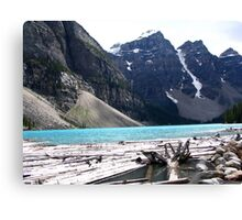 Moraine Lake, Alberta Canvas Print