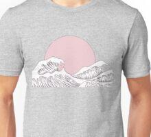 pink wave Unisex T-Shirt