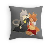 Catboy Souyo Throw Pillow