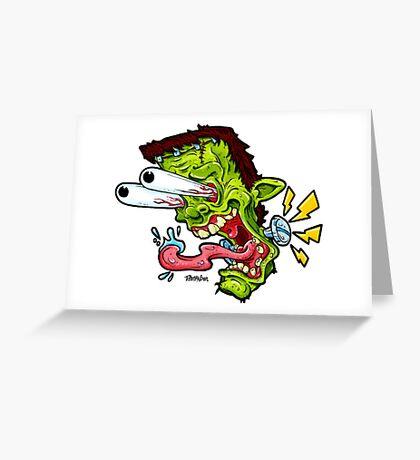 Monsta Mash Greeting Card