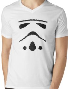 Rorschach Storm Trooper Mens V-Neck T-Shirt
